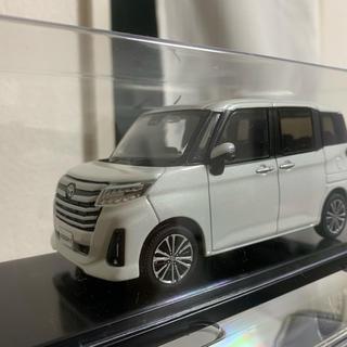 トヨタ - 新型 ルーミー カラーサンプル ミニカー パールホワイト