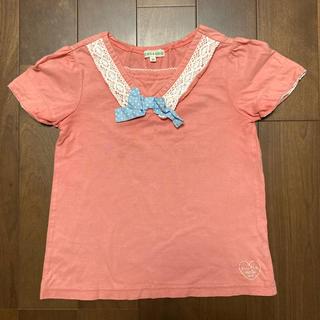 サンカンシオン(3can4on)のTシャツ3can4on (120) 子供服 女の子(Tシャツ/カットソー)