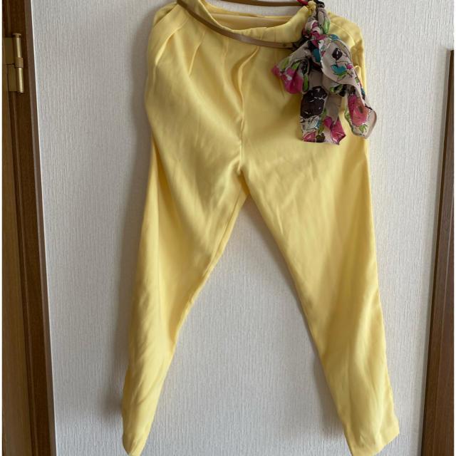 Lily Brown(リリーブラウン)のリリーブラウン パンツ&ベルトセット レディースのパンツ(カジュアルパンツ)の商品写真