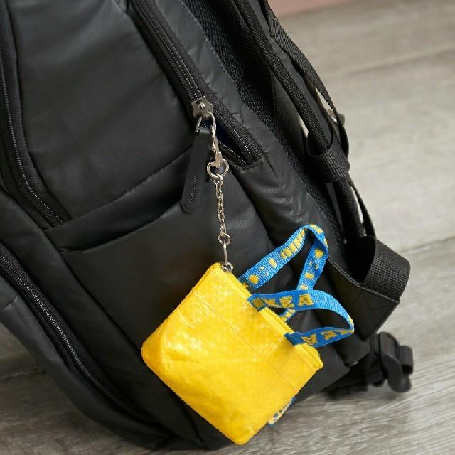 IKEA(イケア)の最安値♪原宿限定 新商品♪IKEA クノーリグ 可愛い ミニバッグ キーホルダー レディースのバッグ(エコバッグ)の商品写真