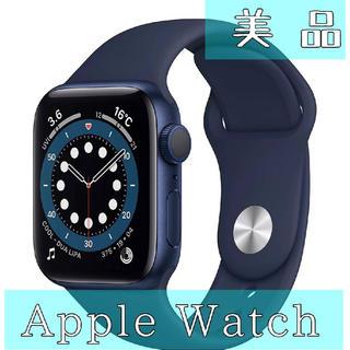 アップルウォッチ(Apple Watch)のApple Watch Series 6 GPSモデル 40mm ブルー(腕時計(デジタル))