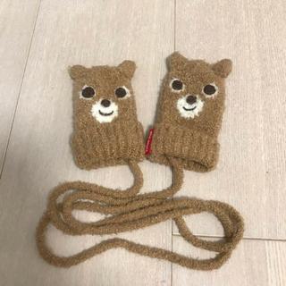ミキハウス(mikihouse)のミキハウス プッチー ミトン 手袋 Sサイズ(1~3歳)定価5184円(手袋)