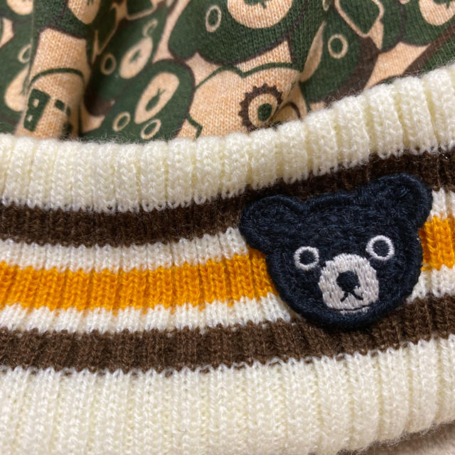 DOUBLE.B(ダブルビー)のMIKIHOUSE ダブルビー オスロキャップ L キッズ/ベビー/マタニティのこども用ファッション小物(帽子)の商品写真