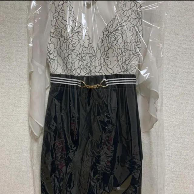 dazzy store(デイジーストア)のDazzy Store☆シフォンベルスリーブバイカラードレス レディースのフォーマル/ドレス(ミニドレス)の商品写真