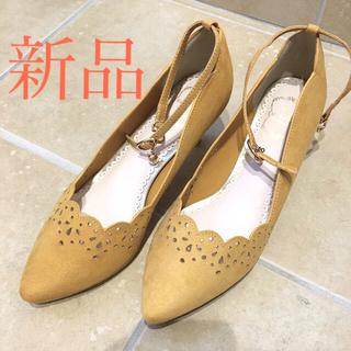 ミッシュマッシュ(MISCH MASCH)の新品未使用 ミッシュマッシュ パンプス 靴(ハイヒール/パンプス)