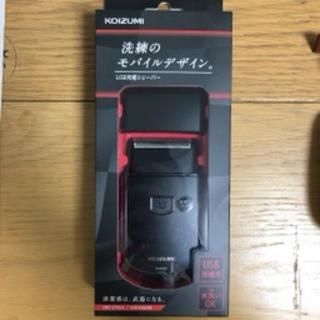 コイズミ(KOIZUMI)のコイズミ メンズシェーバー USB充電式 往復式 ブラック KMC-0700/K(メンズシェーバー)