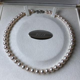 MIKIMOTO - Mikimoto ミキモト 7.5-8.0mm ネックレス 残り珠2珠付き