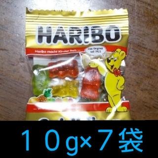 ゴールデンベア(Golden Bear)のHARIBO グミ 10g×7袋(菓子/デザート)
