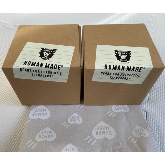 A BATHING APE(アベイシングエイプ)の2個セット human made ヒューマンメイド マグカップ メンズのファッション小物(その他)の商品写真
