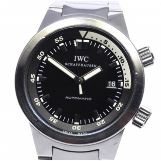 IWC - IWC アクアタイマー デイト IW354805 自動巻き メンズ 【中古】