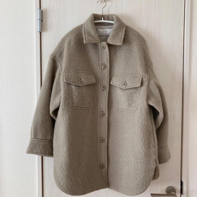 Plage(プラージュ)の美品 Plage プラージュ Check シャギージャケット レディースのトップス(シャツ/ブラウス(長袖/七分))の商品写真