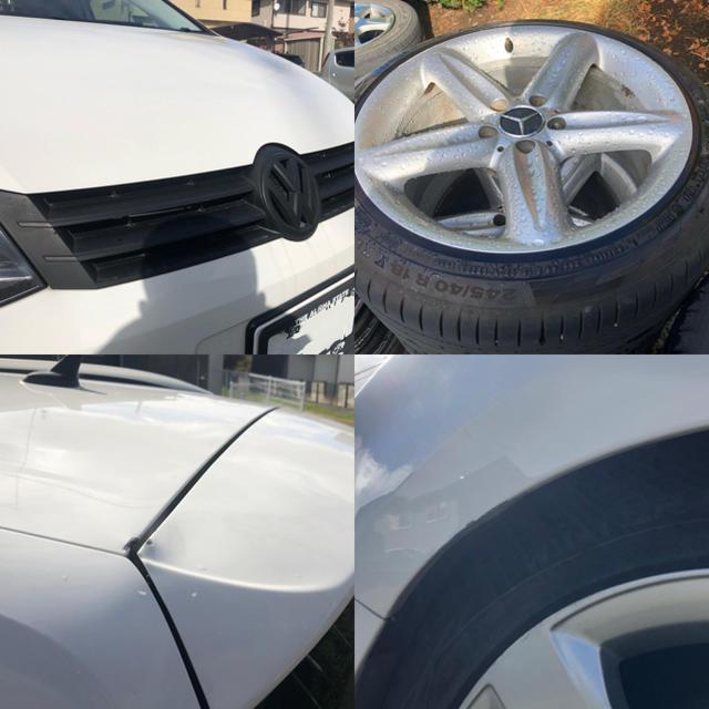 VW フォルクスワーゲン シャラン ハイライン ローダウン フリップダウン 自動車/バイクの自動車(車体)の商品写真