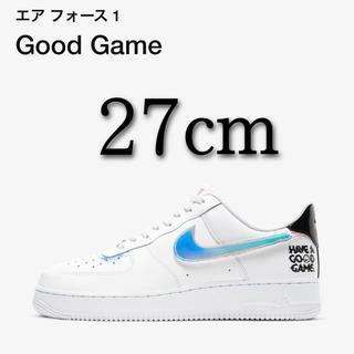 NIKE - NIKEナイキ エアフォース1 GOODGAME 27cm
