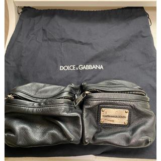 ドルチェアンドガッバーナ(DOLCE&GABBANA)のDOLCE&GABBANA ウエストバッグ ボディバッグ(ボディーバッグ)