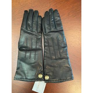 コーチ(COACH)のコーチ COACH 手袋 レディース 新品 (手袋)