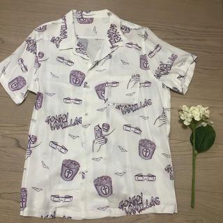 go!go!vanillas オープンカラーシャツ(ミュージシャン)