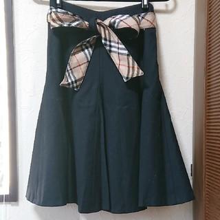 BURBERRY BLUE LABEL - バーバリーブルーレーベル   ホースマーク   woolスカート 美品✨