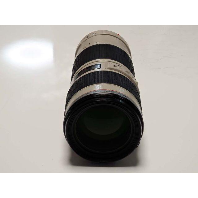 Canon(キヤノン)のEF 70-200mm F4L USM 保証有 F4.0 スマホ/家電/カメラのカメラ(レンズ(ズーム))の商品写真