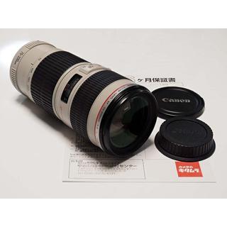 Canon - EF 70-200mm F4L USM 保証有 F4.0