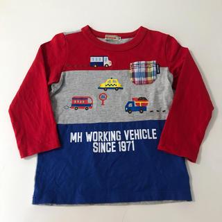 mikihouse - ミキハウス ロンT 長袖Tシャツ 100 車