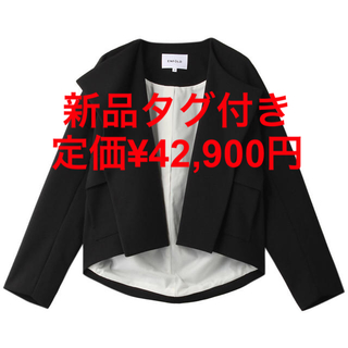 ENFOLD - enfold エンフォルド ダブルクロス Big PKT ショートジャケット