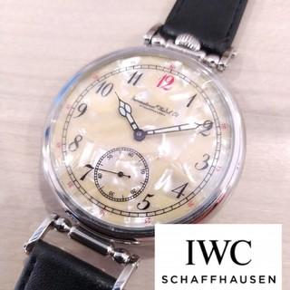 IWC - 希少 IWC アンティーク パイロット 手巻き腕時計 ビンテージ 裏スケ