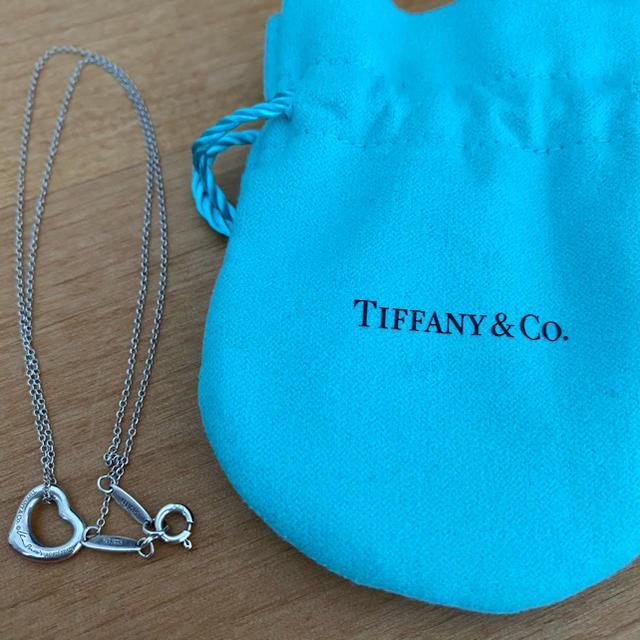 Tiffany & Co.(ティファニー)のオープンハート レディースのアクセサリー(ネックレス)の商品写真