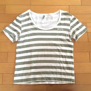 マーガレットハウエル(MARGARET HOWELL)の【MHL】Tシャツ レディース(Tシャツ(半袖/袖なし))