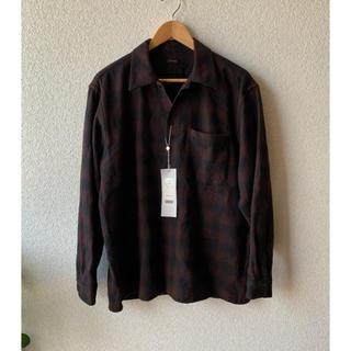 COMOLI - 新品 SIZE 2 20AW COMOLI ウールチェック オープンカラーシャツ