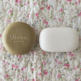 ヴァーナル(VERNAL)のヴァーナル 石鹸♡アンクソープ、センシティブザイフ(洗顔料)