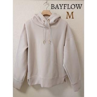 BAYFLOW - 未使用 ベイフロー BAYFLOW ダンボールパーカー スウェット トップス長袖