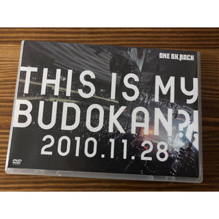 ONE OK ROCK 武道館LIVE DVD