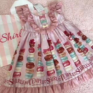 Shirley Temple - シャーリーテンプル マカロン ジャンパースカート 新品