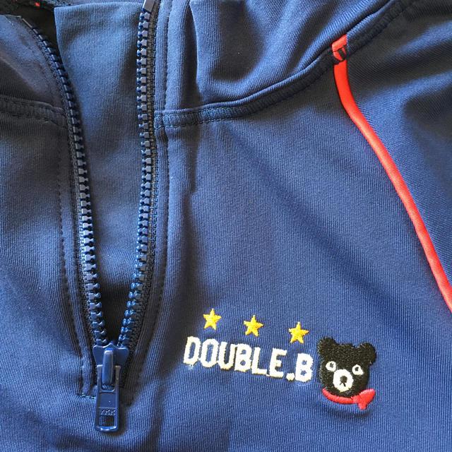 DOUBLE.B(ダブルビー)の専用♫ ダブルビー*ラッシュガード 半袖 男の子 120 キッズ/ベビー/マタニティのキッズ服男の子用(90cm~)(水着)の商品写真