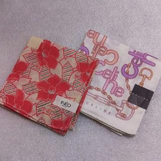 celine - INED&セリーヌ☆ハンカチ2枚セット