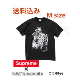 シュプリーム(Supreme)のsupreme×yohji yamamoto コラボTシャツ(Tシャツ/カットソー(半袖/袖なし))