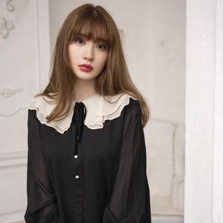 snidel - Romantic Volume Sleeve Midi Dress