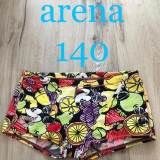 arena - arena ミッキー柄 アリーナ ディズニー 練習水着 競泳 男の子 140cm