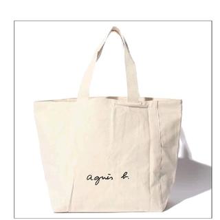agnes b. - アニエスベー agnes b. ブランド 正規 トートバッグ 白 L カバン