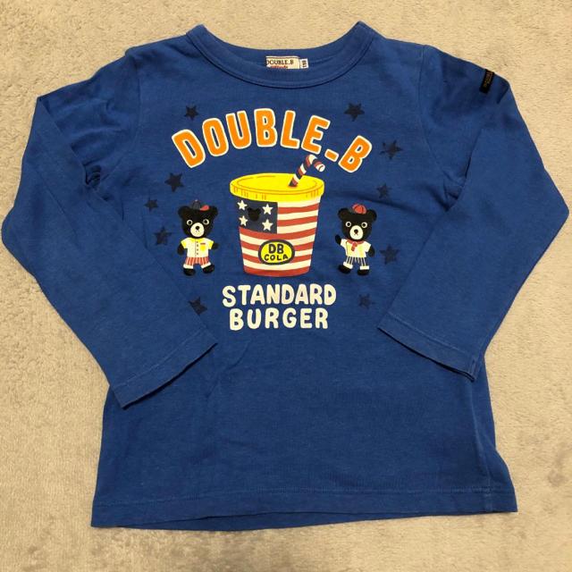 DOUBLE.B(ダブルビー)のミキハウス ロンT キッズ/ベビー/マタニティのキッズ服男の子用(90cm~)(Tシャツ/カットソー)の商品写真