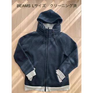 ビームス(BEAMS)のメンズ秋冬パーカー beams Lサイズ(パーカー)