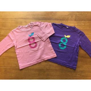 グリーンレーベルリラクシング(green label relaxing)のgrinkids グリンキッズ ロンT Tシャツ 2枚セット 85cm(Tシャツ)