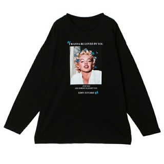 エイミーイストワール(eimy istoire)のeimy istoire Marilyn Monroe Butterfly(Tシャツ(長袖/七分))