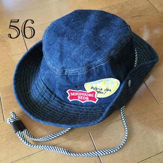 mikihouse - ミキハウス*デニム 帽子 テンガロンハット 56