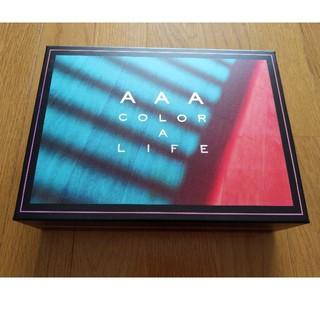 トリプルエー(AAA)のCOLOR A LIFE(初回生産限定盤)グッズのみ(ポップス/ロック(邦楽))
