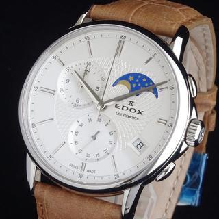 エドックス(EDOX)の◆高精度◆ EDOX エドックス 新品 メンズ 腕時計 レ・ベモン スイス製(レザーベルト)