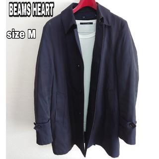 ビームス(BEAMS)の美品【BEAMS HEART】ビームスハートステンカラーコートロングジャケット (ステンカラーコート)