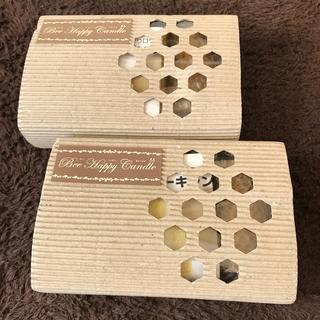 ヤマダヨウホウジョウ(山田養蜂場)の山田養蜂場 ビーハッピーキャンドル 2箱(キャンドル)