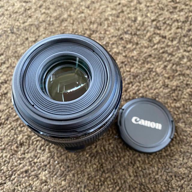 Canon(キヤノン)のCanon EF-S60F2.8マクロUSM スマホ/家電/カメラのカメラ(レンズ(単焦点))の商品写真