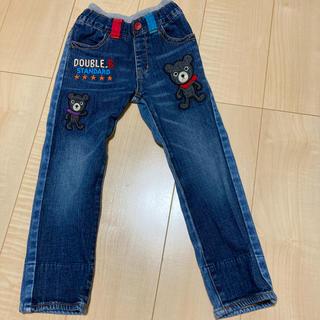 ダブルビー(DOUBLE.B)のミキハウス ダブルB デニム ズボン サイズ110(パンツ/スパッツ)